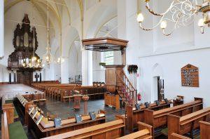 grote kerk hervormde gemeente nijkerk interieur orgel