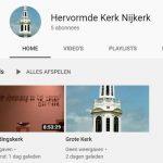 YouTube-kanaal Hervormd Nijkerk